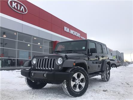 2018 Jeep Wrangler JK Unlimited Sahara (Stk: 9FT3268A) in Calgary - Image 1 of 7