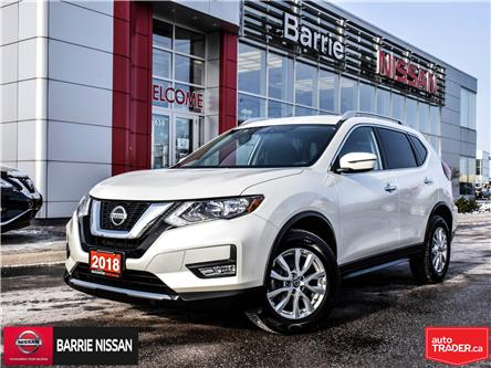 2018 Nissan Rogue SV (Stk: P4638) in Barrie - Image 1 of 28
