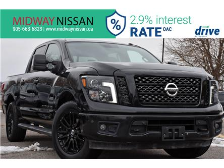 2018 Nissan Titan SV Midnight Edition (Stk: KN522991A) in Whitby - Image 1 of 33