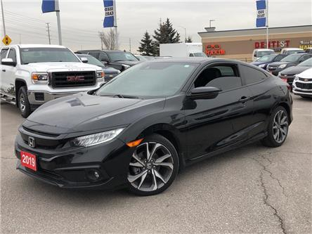 2019 Honda Civic Coupe Touring|LEATHER|SUNROOF|ALLOY|NAVI| (Stk: 152895A) in BRAMPTON - Image 2 of 18