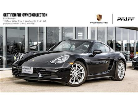 2018 Porsche 718 Cayman PDK (Stk: P15192A) in Vaughan - Image 1 of 21