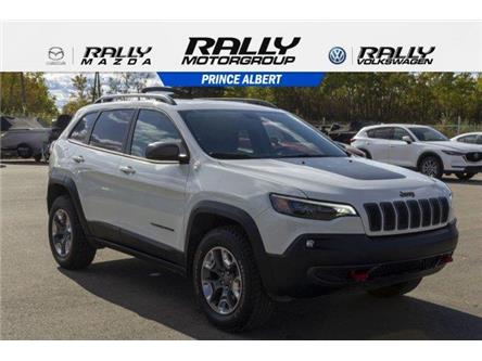 2019 Jeep Cherokee Trailhawk (Stk: V1034) in Prince Albert - Image 1 of 6