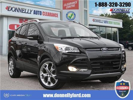 2015 Ford Escape Titanium (Stk: CLDUR6272A) in Ottawa - Image 1 of 28