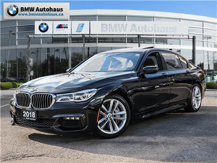 2018 BMW 750  (Stk: P9220) in Thornhill - Image 1 of 34