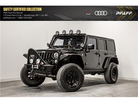2016 Jeep Wrangler Unlimited Rubicon (Stk: C7310A) in Woodbridge - Image 1 of 21