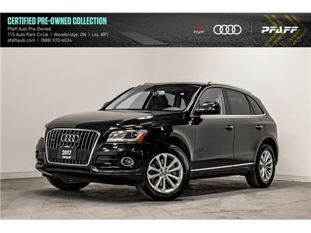2017 Audi Q5 3.0T Progressiv (Stk: C7357) in Woodbridge - Image 1 of 22