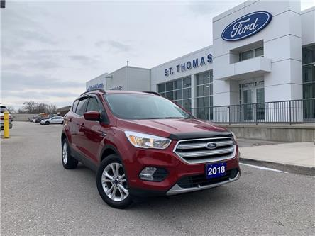 2018 Ford Escape SE (Stk: S0071A) in St. Thomas - Image 1 of 24