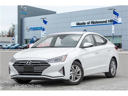 2020 Hyundai Elantra Preferred (Stk: 19-537A) in Richmond Hill - Image 1 of 19