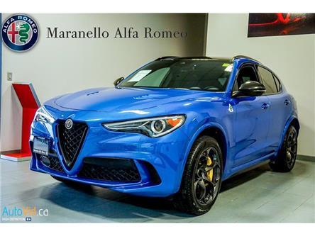 2019 Alfa Romeo Stelvio Quadrifoglio (Stk: P89) in Vaughan - Image 1 of 22