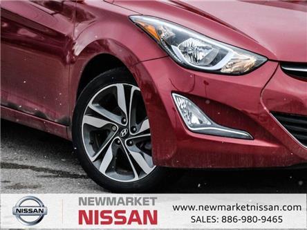 2016 Hyundai Elantra GLS (Stk: 19Q184A) in Newmarket - Image 2 of 25