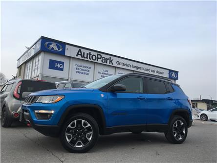 2018 Jeep Compass Trailhawk (Stk: 18-12537) in Brampton - Image 1 of 26