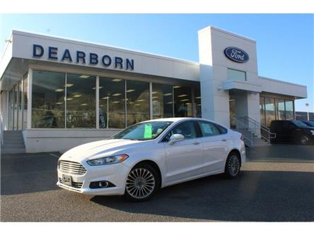 2015 Ford Fusion TITANIUM (Stk: ZK481A) in Kamloops - Image 1 of 28