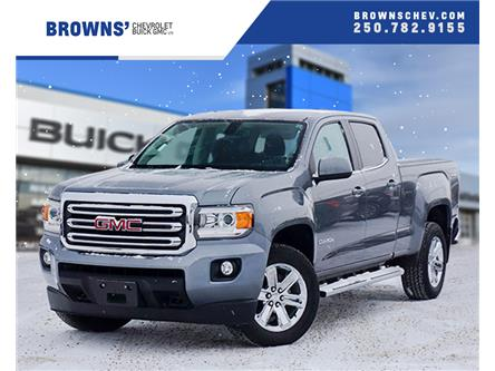 2018 GMC Canyon SLE (Stk: T19-1034A) in Dawson Creek - Image 1 of 15