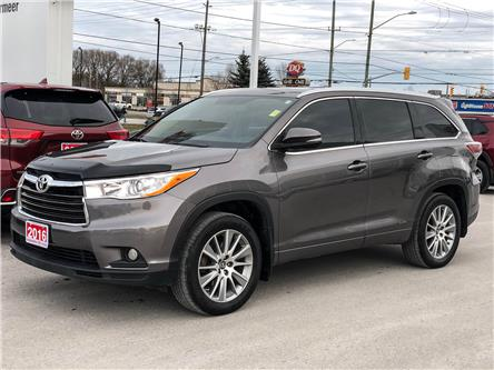2016 Toyota Highlander XLE (Stk: TV364A) in Cobourg - Image 1 of 24