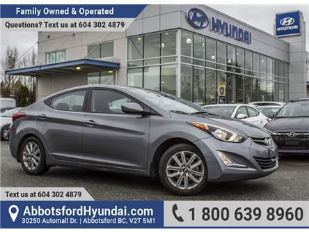 2016 Hyundai Elantra Sport Appearance (Stk: LE909347A) in Abbotsford - Image 1 of 23