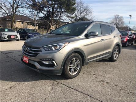 2018 Hyundai Santa Fe Sport Pano Roof| Leather |AWD| Back Up Cam (Stk: 5314) in Stoney Creek - Image 2 of 24