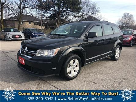 2013 Dodge Journey Canada Value Pkg| BLUETOOTH | GREAT FAMILY VEHICLE (Stk: 5549A) in Stoney Creek - Image 1 of 21