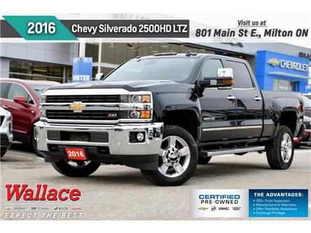 2016 Chevrolet Silverado 2500HD LTZ | DIESEL | LTHR | SUNRF | DVD | NAV | TRLR PKG (Stk: 145588A) in Milton - Image 1 of 30