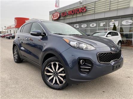 2017 Kia Sportage EX PREMIUM | AWD | PANO ROOF | LEATHER | (Stk: P12843) in Georgetown - Image 2 of 32