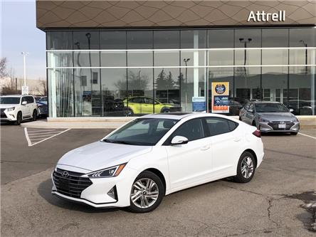 2020 Hyundai Elantra Preferred w/Sun & Safety Package (Stk: 4225) in Brampton - Image 1 of 18