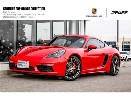 2017 Porsche 718 Cayman S PDK (Stk: U8442) in Vaughan - Image 1 of 22