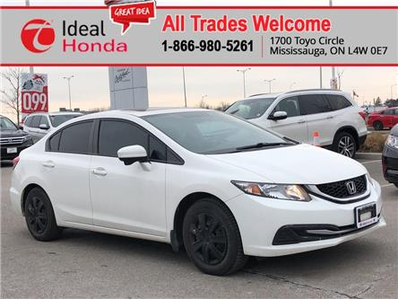 2015 Honda Civic EX (Stk: I200216A) in Mississauga - Image 1 of 15