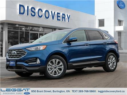 2020 Ford Edge Titanium (Stk: ED20-38071) in Burlington - Image 1 of 21