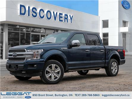 2020 Ford F-150 Platinum (Stk: F120-65588) in Burlington - Image 1 of 21