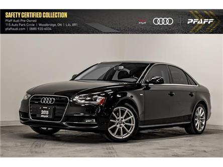 2015 Audi A4 2.0T Progressiv plus (Stk: C7267A) in Woodbridge - Image 1 of 22