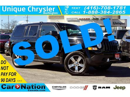 2016 Jeep Patriot HIGH ALTITUDE| 4X4| NAV| SUNROOF| LEATHER & MORE (Stk: K765A) in Burlington - Image 1 of 41