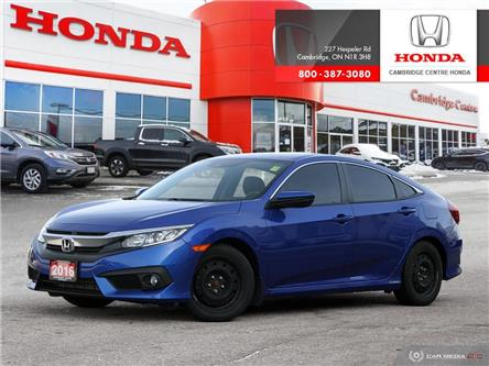 2016 Honda Civic EX-T (Stk: 20495A) in Cambridge - Image 1 of 27