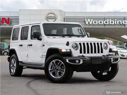 2019 Jeep Wrangler Unlimited Sahara (Stk: P7587) in Etobicoke - Image 1 of 27