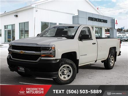 2018 Chevrolet Silverado 1500 WT (Stk: 191340A) in Fredericton - Image 1 of 16