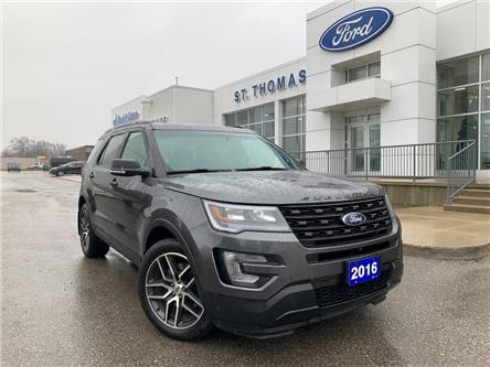 2016 Ford Explorer Sport (Stk: S9862A) in St. Thomas - Image 1 of 29