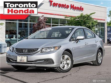 2014 Honda Civic Sedan LX (Stk: H39831A) in Toronto - Image 1 of 28