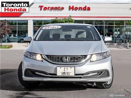 2014 Honda Civic Sedan LX (Stk: H39831A) in Toronto - Image 2 of 28