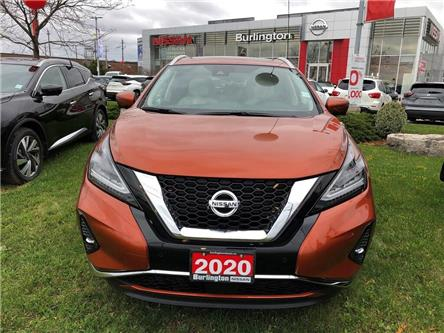 2020 Nissan Murano SL (Stk: Z8600) in Burlington - Image 2 of 5