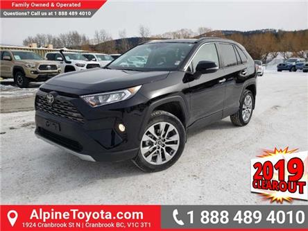 2019 Toyota RAV4 Limited (Stk: W018817) in Cranbrook - Image 1 of 19