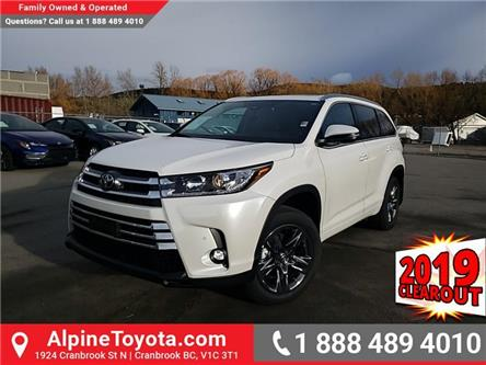 2019 Toyota Highlander Limited (Stk: S735865) in Cranbrook - Image 1 of 25