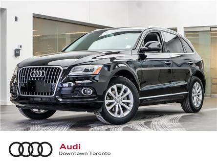 2016 Audi Q5 2.0T Progressiv (Stk: P3603) in Toronto - Image 1 of 28
