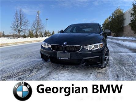 2017 BMW 440i xDrive Gran Coupe (Stk: B19308T1) in Barrie - Image 1 of 15