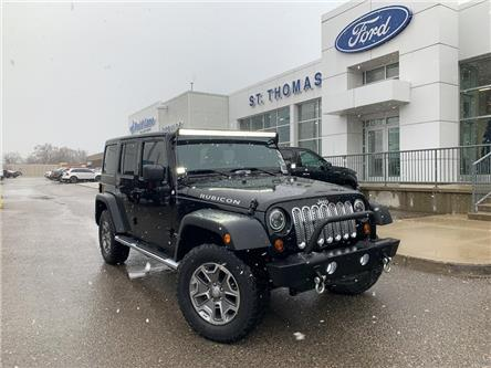 2013 Jeep Wrangler Unlimited Rubicon (Stk: T9519A) in St. Thomas - Image 1 of 22