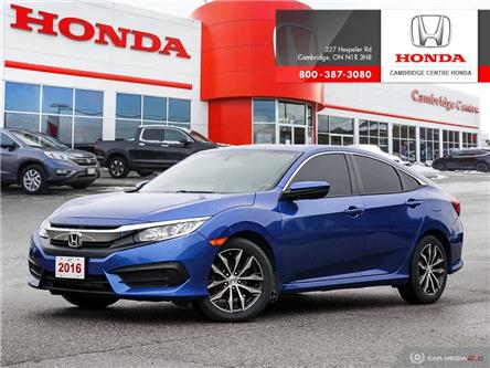 2016 Honda Civic LX (Stk: U4982) in Cambridge - Image 1 of 27