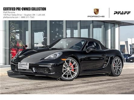 2017 Porsche 718 Boxster S PDK (Stk: P15168A) in Vaughan - Image 1 of 22