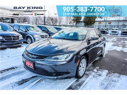 2016 Chrysler 200 LX (Stk: 6889RA) in Hamilton - Image 1 of 19
