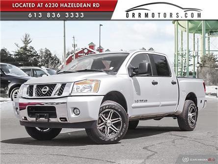 2013 Nissan Titan SV (Stk: 5831) in Stittsville - Image 1 of 27