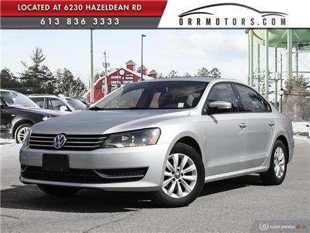 2013 Volkswagen Passat 2.5L Trendline (Stk: 5798-1) in Stittsville - Image 1 of 27