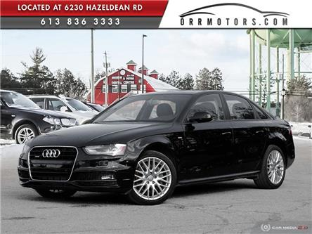 2016 Audi A4 2.0T Komfort plus (Stk: 5946) in Stittsville - Image 1 of 27