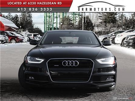 2015 Audi A4 2.0T Komfort (Stk: 5923) in Stittsville - Image 2 of 27