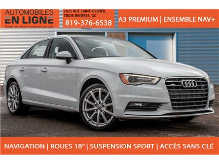 2015 Audi A3 2.0T Progressiv (Stk: 113989) in Trois Rivieres - Image 1 of 42